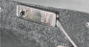 замена выключатель освещения багажника skoda