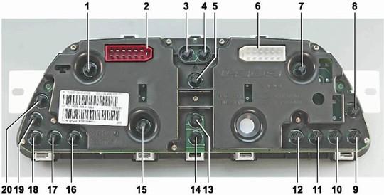 Контрольные лампочкы хундая h200 панель приборов