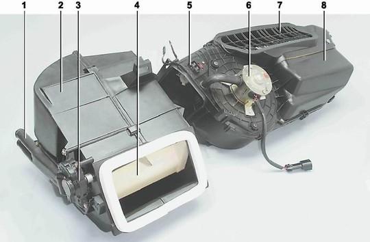 renault kangoo фильтры вентиляции отопления