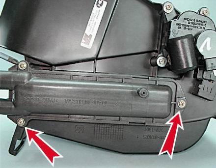 как поменять радиатор отопителя на киа спектра
