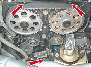 установка ремня грм ситроен 8 клапанов