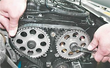 volvo xc70 газораспределение метки ремонт