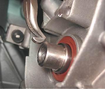Как заменить передний сальник коленвала двигателя рокам 1 6 форд фокус 1 3 фотография
