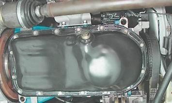 как поменять прокладку поддона мотор 2с